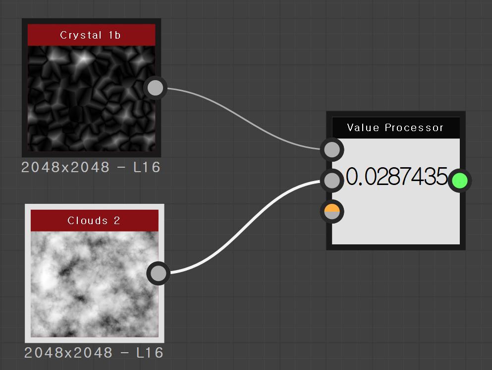 Crystal 1b  - L 16  Clouds 2  - L 16  Value Processor  0.028743