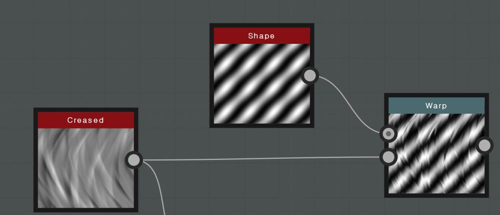 Shape  Creased  Warp