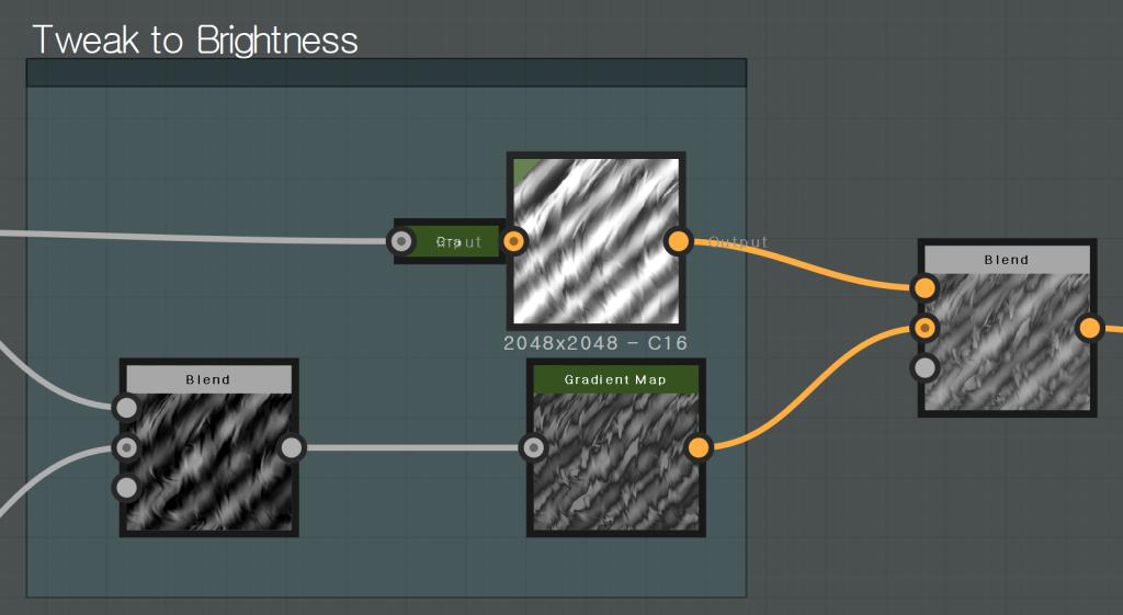 Tweak to Brightness  - C16  Gradient Map