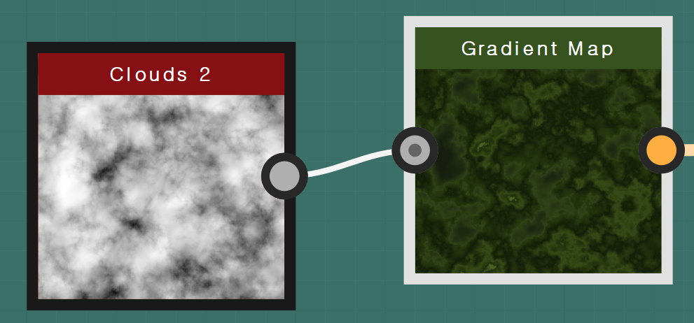 Gradient Map  Clouds 2
